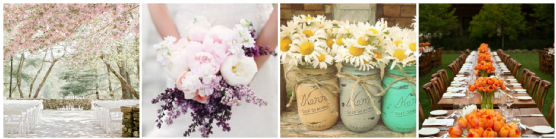 Spring Weddings - Floral