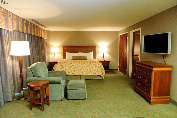 Turf Valley Green Initiatives - Hotel Rooms